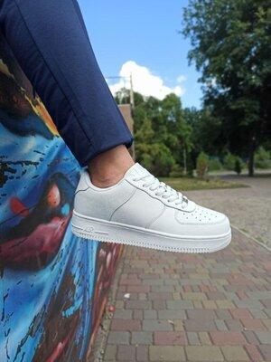 Мужские кроссовки Air Force белые