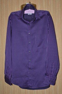 M-L Мужская, стильная рубашка от Arrow ворот 39-15 1/2 объем W 112