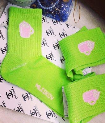 Демисезоні, яркі носки з принтом р 37-41 женские носки шкарпетки жіночі