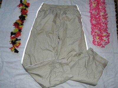 Продано: Спортивные не промокаемые штаны плащевка, Crane sports M -сток