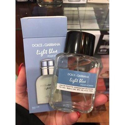 Dolce Gabbana Light Blue pour homme - Free Tester 60ml