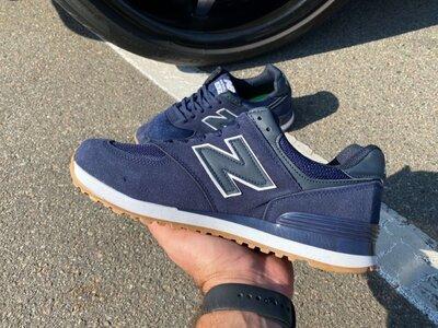 Кроссовки New Balance 574 Blue/Blue