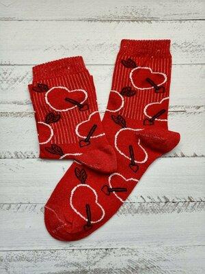 Продано: Високие женские носки с принтами/Високі носки з принтами/надписами/приколами