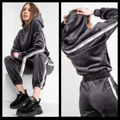 Продано: Женский спортивный велюровый костюм на флисе.
