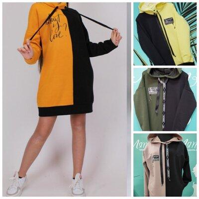 Качественные весенние подростковые платья-туники