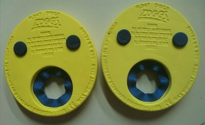Диски для плавания Zoggs Float discs нарукавники плаванья