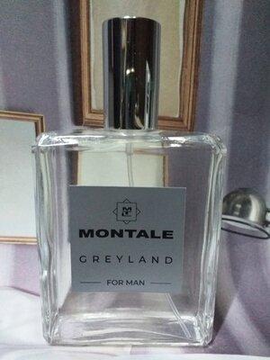 Montale Greyland for Man 100 мл, Мужская Туалетная вода, Духи мужские, Парфюмерия, Одеколон