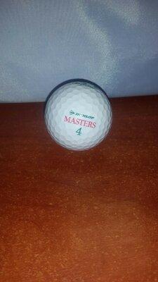 мячик для гольфа Dunlop Masters 4