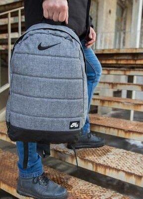 Рюкзак матрас цвета серый меланж