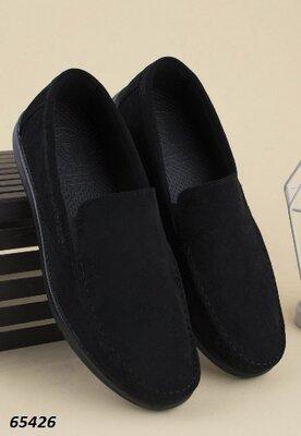 Мужские туфли в черном цвете 39-44