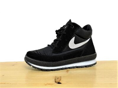 Продано: Ботинки демисезонные женские на шнуровку Е-11Чрн