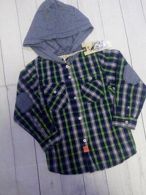 Хлопковые рубашки Венгрия 104-110 Glo Story