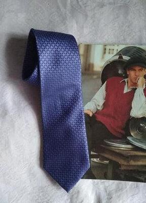 Фиолетовый галстук в ромбы for men