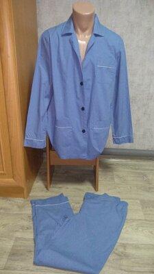 Продано: Пижама мужская M размер 46-48 хлопок 100%