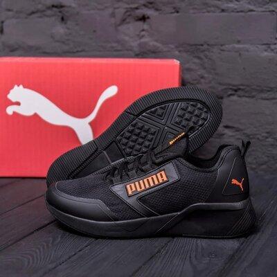 Чоловічі кросівки Puma утепление Код А 980-4 ч ор