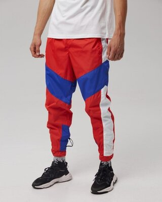 Cпортивные штаны Пушка Огонь Split красно-синие
