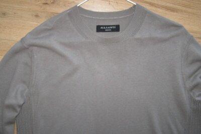 Allsaints мужской свитер хлопок-вискоза-лен M-L размер. Оригинал