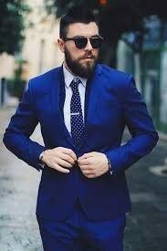 Burton Menswear London Синий классический пиджак мужской