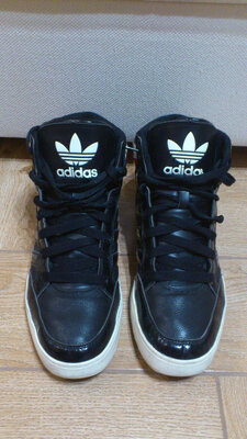 Кроссовки высокие мужские черные Адидас Кросівки високі чоловічі Adidas Original Hard Court Hi р.45