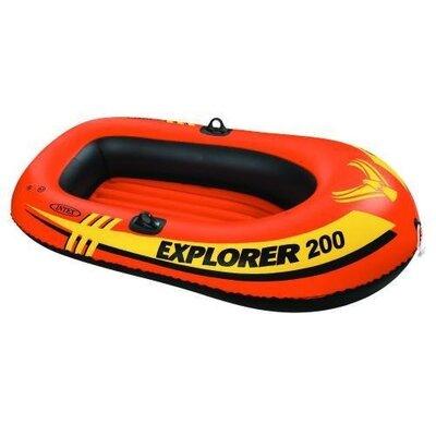 Двухместная надувная лодка Intex 58331 EXPLORER 200