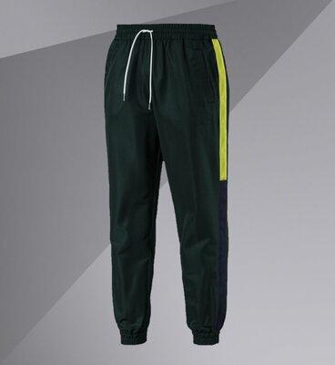 Спортивные штаны/Pants with side stripe Зеленые