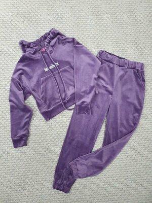 Велюровый костюм для девочки 158р