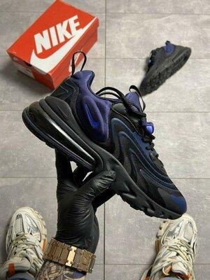 Кроссовки Nike Air Max 270 React X Black Blue.