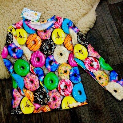 Реглан кольорові пончики Five Stars