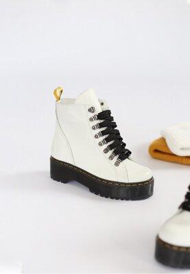 Супер предложение Цена 1560 грн Кожаные ботинки на байке Два цвета