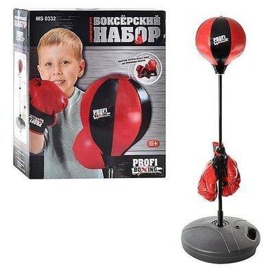 Продано: Детский боксерский набор на стойке MS 0332, боксерская груша на стойке и перчатки
