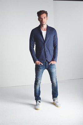 Піджак блейзер Denham Bow Dye Cotton-Linen Blazer
