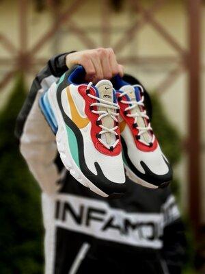 Мужские Кроссовки Nike Air Max 270 React ААА 41-42-43-44-45