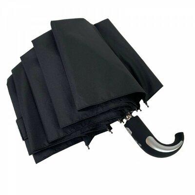 Зонт мужской полуавтомат Серебряный дождь полукрюк Бесплатная доставка