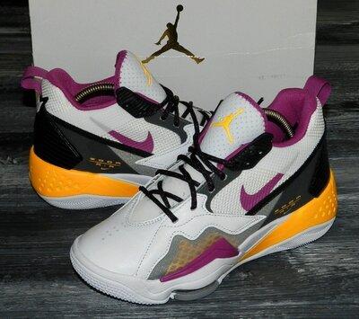 Женские оригинальные, кожаные, невероятно крутые кроссовки Nike Air Jordan Zoom