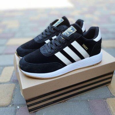Кроссовки Adidas Iniki, черные, 10243