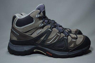 Salomon Ellipse GTX Gore-Tex ботинки трекинговые непромокаемые. Оригинал. 42 р./26.5 см.