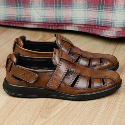Мужские кожаные сандалии ECCO TRANSPORTER 022654 Оригинал 42р. 27,5 см.