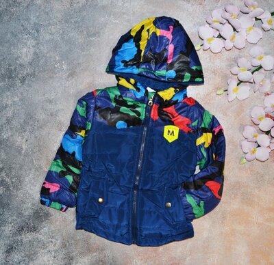 Демисезонная куртка на мальчика, детская куртка весна