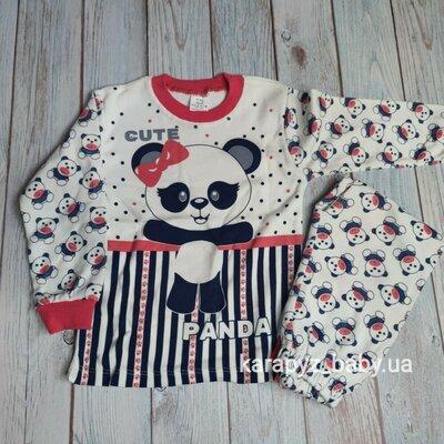 Пижама для девочки Панда 4-6 лет Турция