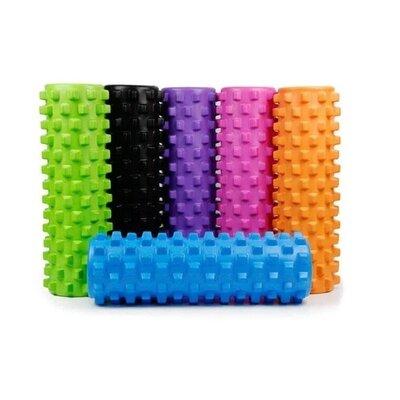Валик массажный, роллер, ролик для фитнеса и йоги Grid Roller EVA 33 x 14 см, 45 x 14 см