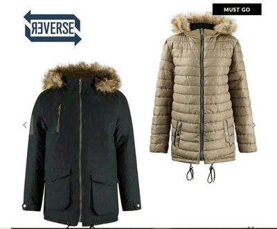Двусторонняя мужская куртка Lee Cooper р. S