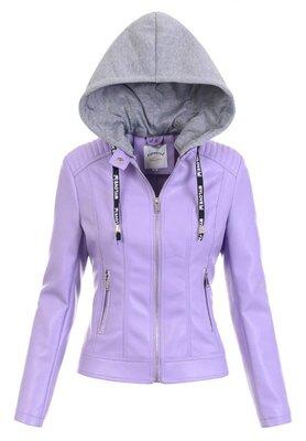 Женская куртка лилового цвета, фиолетовая женская куртка