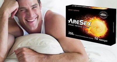 Добавка дієтична для чоловіків AreSex средство для мужчин, мужская сила