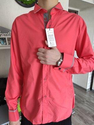 Рубашка мужская AFISH,красная