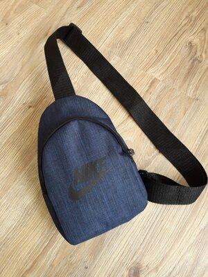 Небольшая барсетка / сумка слинг на грудь / мессенджер /сумка через плечо
