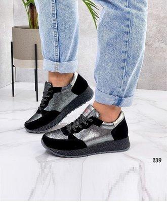 Замшевые натуральные женские кроссовки, кожаные кроссовки MORTAL шкіряні кросівки 40р-25 см код 239