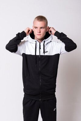 Спортивный костюм Nike весна черно-белый
