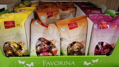 Шоколадные конфеты Favorina Pralines 150 g.