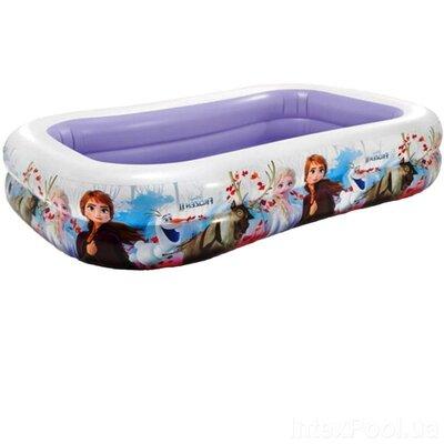 Продано: Дитячий надувний басейн Intex 58469 «Холодне серце», 262 х 175 х 56 см