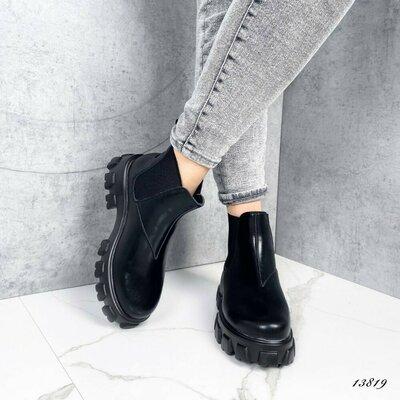 Продано: Женские ботинки Челси. Натуральная кожа